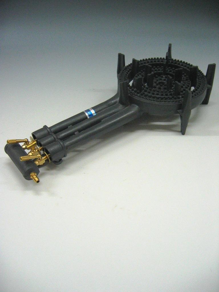 鋳物コンロ 三重:鉄板焼き器